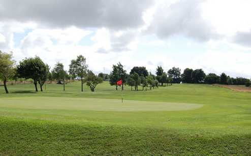 A view of hole #15 at Great Lever & Farnworth Golf Club