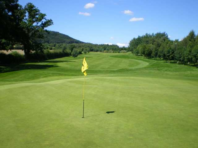 Green from Burghill Valley Golf Club