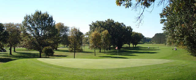 A view of the green at Kankakee Elks Country Club