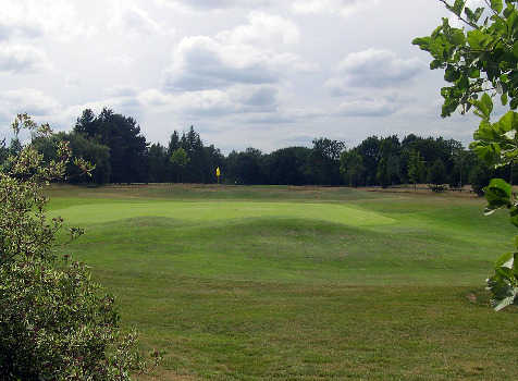 A view of the 11th green at Brickendon Grange Golf Club