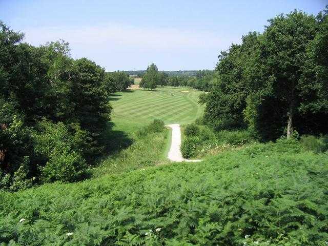 A view of fairway at Canterbury Golf Club