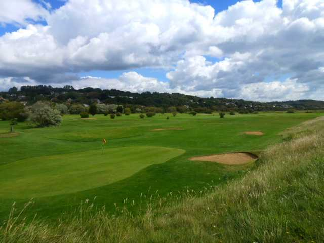 A view from Hythe Golf Club
