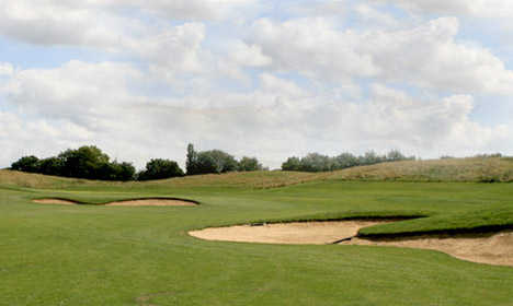 A view from Pedham Place Golf Centre