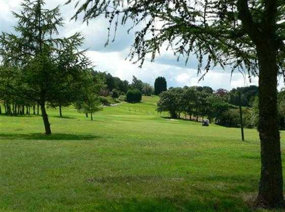 A view of the 17th fairway at Blackburn Golf Club