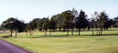 A view of a green at Hindley Hall Golf Club
