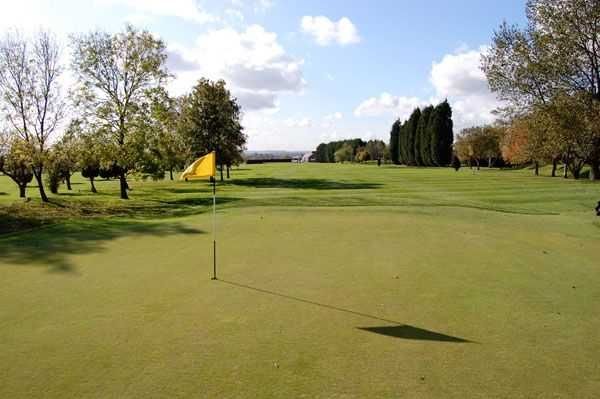A view of the 1st hole at Melton Mowbray Golf Club