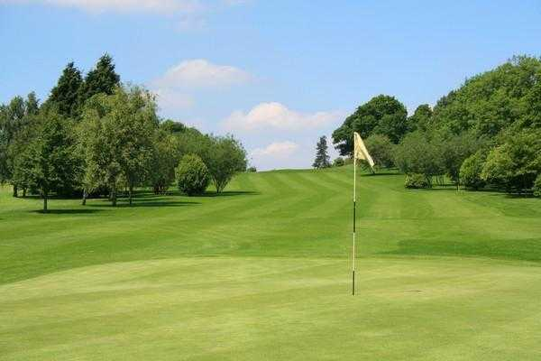 A view of the 11th hole at Louth Golf Club