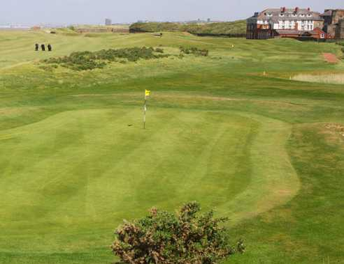 A view of the 3rd hole at Leasowe Golf Club
