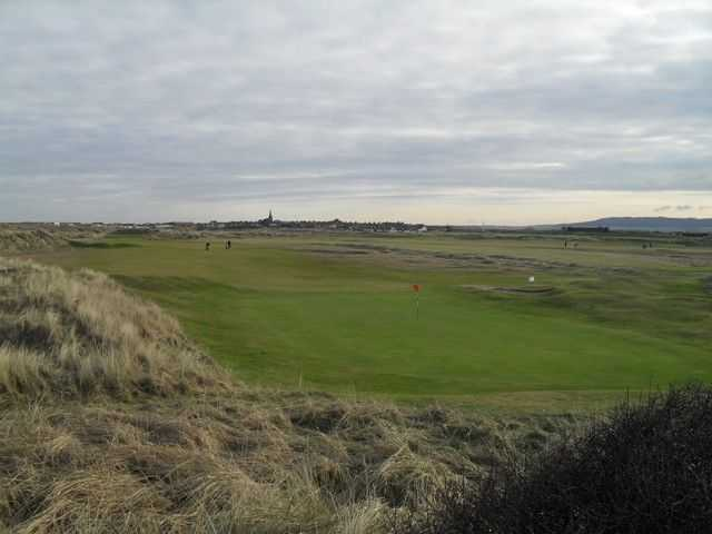 A view of a green at Cleveland Golf Club