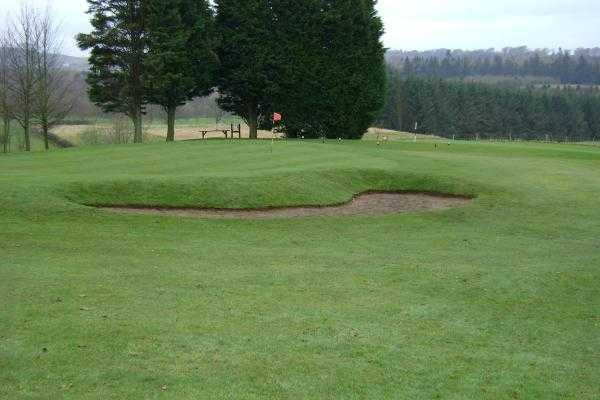 A view of the 11th green at Richmond Golf Club