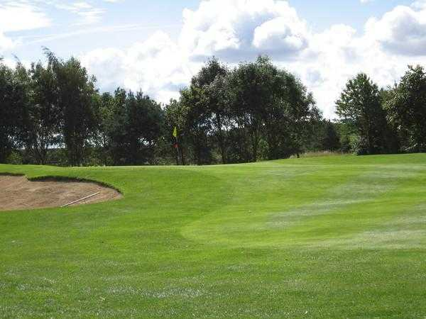 A view from fairway #3 at Thirsk & Northallerton Golf Club