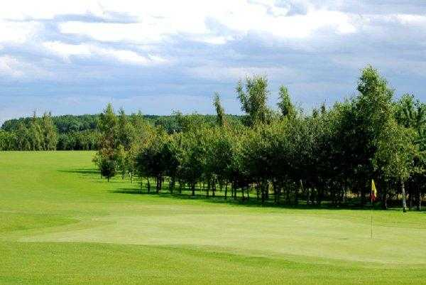 A view of green #5 at Thirsk & Northallerton Golf Club