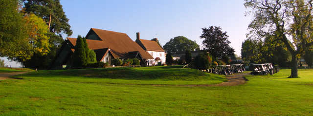 A view of the clubhouse at Farthingstone Hotel & Golf
