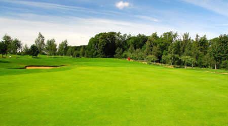 A view of the 5th hole at Northampton Golf Club