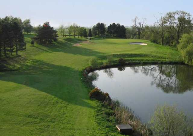 A view from the 12th tee at De Vere Staverton Estate.