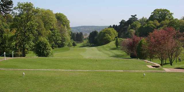A view from the 1st tee at Hexham Golf Club