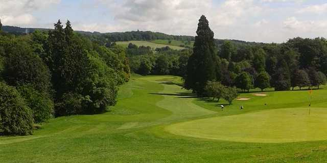 A view of fairway #18 at Hexham Golf Club