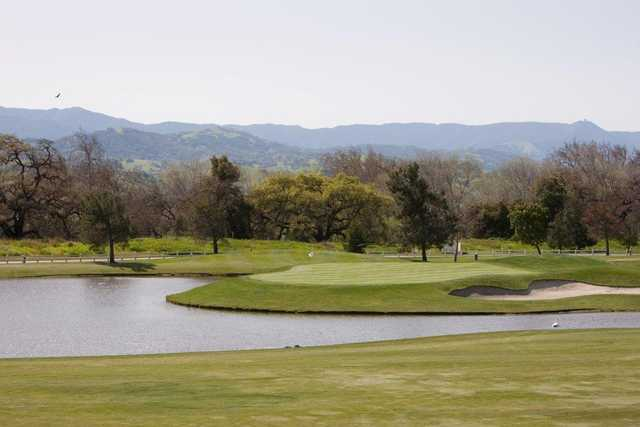 View of the 17th hole on the Tournament Course at Coyote Creek Golf Club