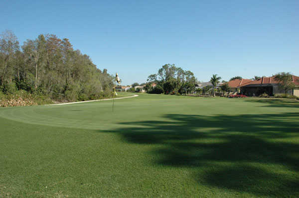 View of the 14th hole at Eagle Ridge Golf Club