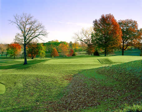 A fall view from Forest Park Golf Course