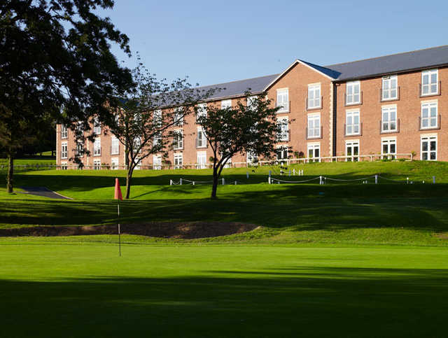 A view of a green at Macdonald Hill Valley Spa, Hotel & Golf