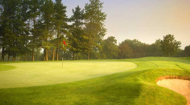 A view of the 11th hole at Bath Golf Club