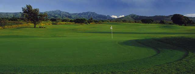 View of a green from Kiahuna Golf Club