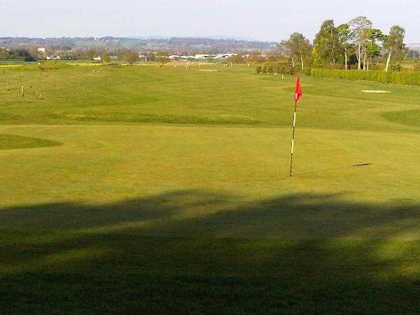 A view of a hole from Halfpenny Green Golf Club