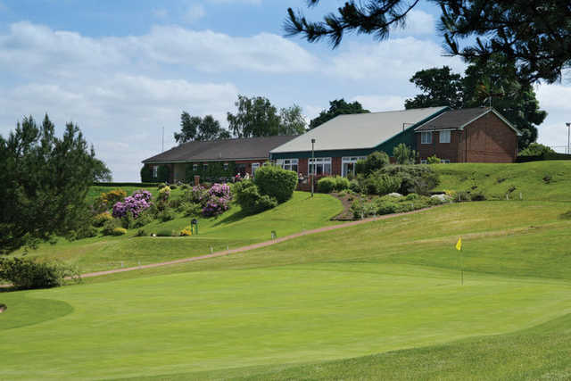 A view of the clubhouse at The Staffordshire Golf Club