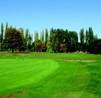 A view of a hole at Haverhill Golf Club