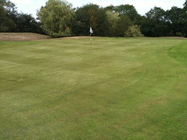 A view of hole #1 at Chiddingfold Golf Club