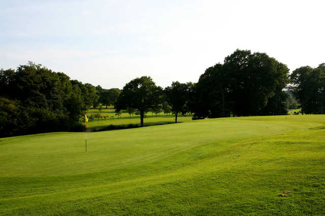 A view of a hole at Cranleigh Golf & Country Club