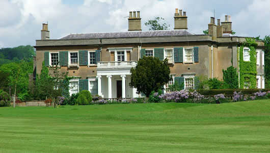 A view of the clubhouse at Godstone Golf Club