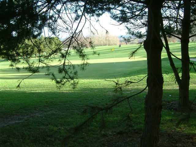 A view of hole #15 at Druids Heath Golf Club