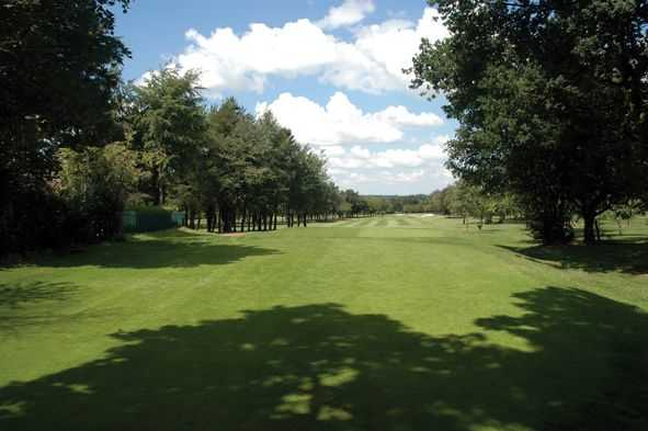 4th hole at South Staffordshire Golf Club