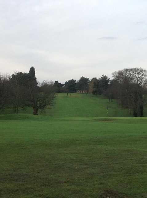 A view of fairway #18 at Stourbridge Golf Club