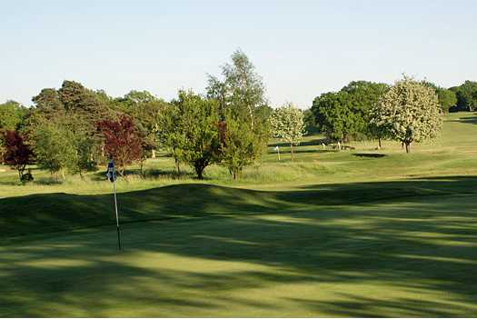 A view of hole #15 at Ifield Golf Club