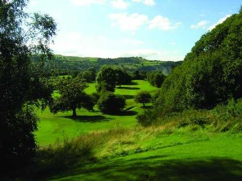 A view from the 12th tee at Keighley Golf Club