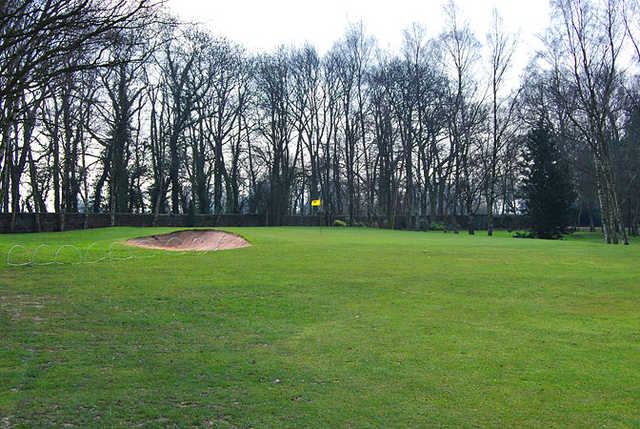 A view from fairway #4 at Leeds Golf Club