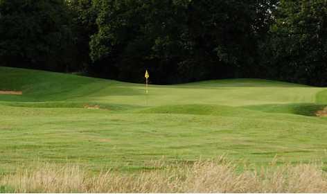 A view of the 2nd green at Marlborough Golf Club