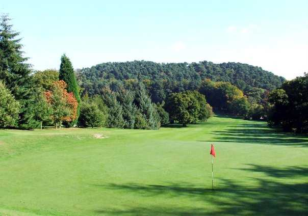 A  sunny day view from Lickey Hills Golf Course