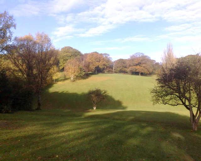 An autumn view from Pitcheroak Golf Course