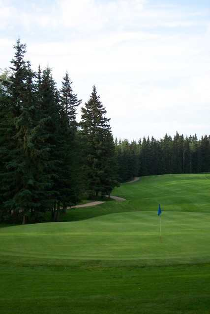 A view of hole #17 at Water Valley Golf and Country Club