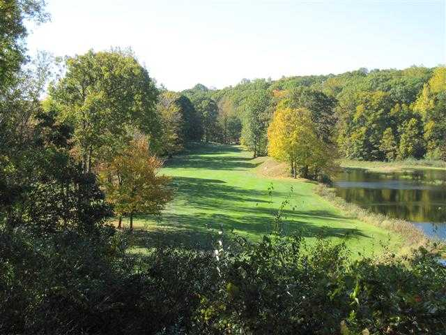 A view of the 15th fairway at Ridgefield Golf Course