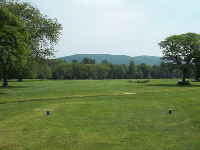 A view from tee #1 at Conocodell Golf Club