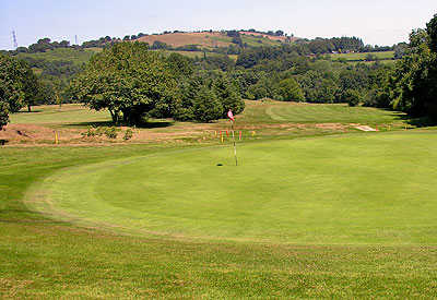 A view of hole #12 at Llanishen Golf Club