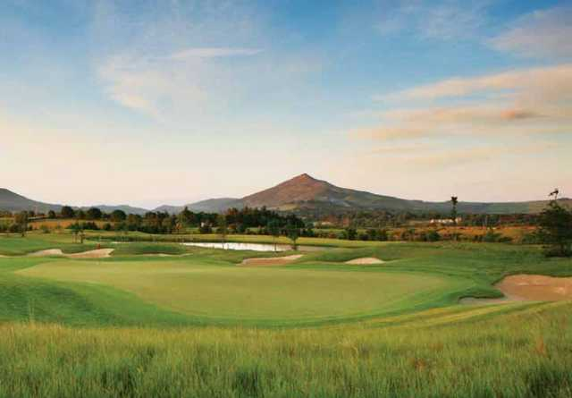 A view of the 8th hole at Lower Course from Dun Laoghaire Golf Club