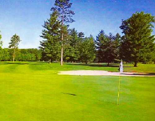 View of a green at White Deer Country Club