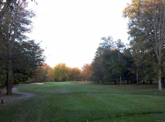 A view from tee #8 at Chisholm Hills Golf Club