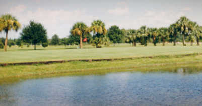 A view over the water from Silver Dollar Golf & Trap Club